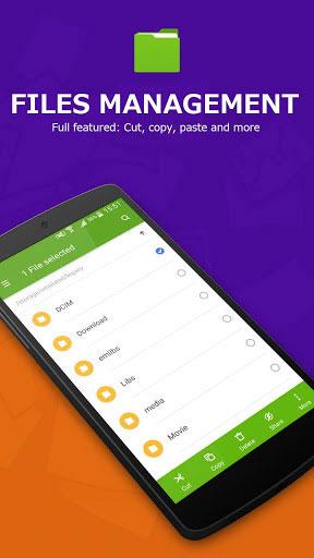 تطبيق Super File Manager لإدارة ونقل الملفات