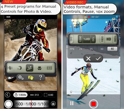 تطبيق CamoGraphy لتحرير الصور والفيديو