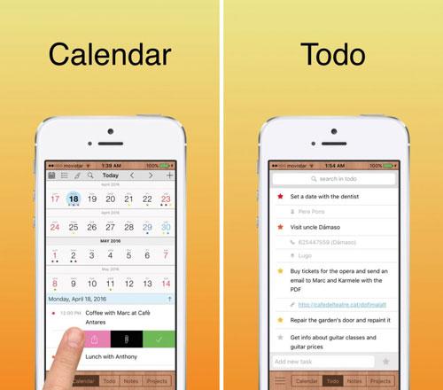 تطبيق Toucan 6 تقويم وملاحظات وإدارة أعمال
