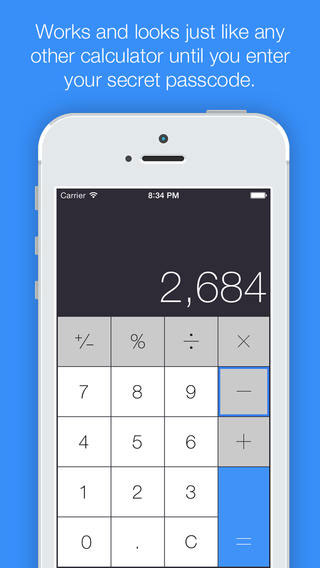 تطبيق Fake Calculator لإخفاء ملفاتك في مكان آمن