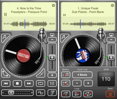 تطبيق Air Scratch للعبث بالصوتيات