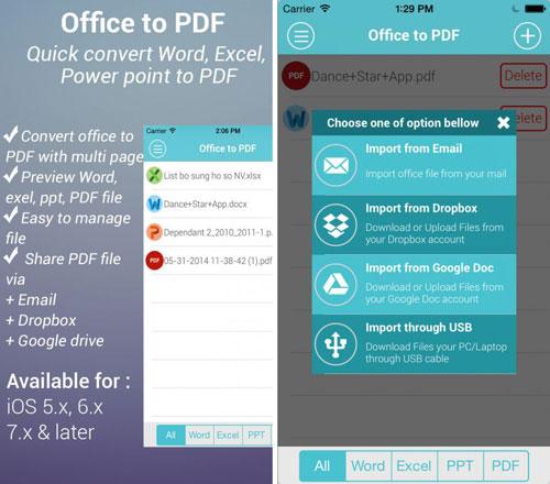 تطبيق Office to PDF Pro لتحويل ملفات Word إلى PDF مع مزايا كثيرة