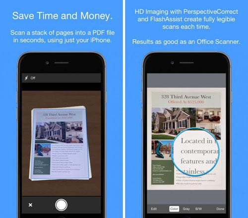 تطبيق Smart PDF Scanner لتحويل جهازك لسكانار