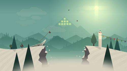 لعبة Alto's Adventure للتزلج والقيام بحركات مذهلة
