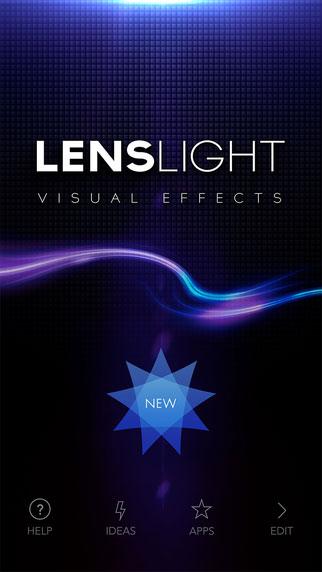 تطبيق LensLight المميزة لتحرير وتعديل الصور بالكثير من المزايا