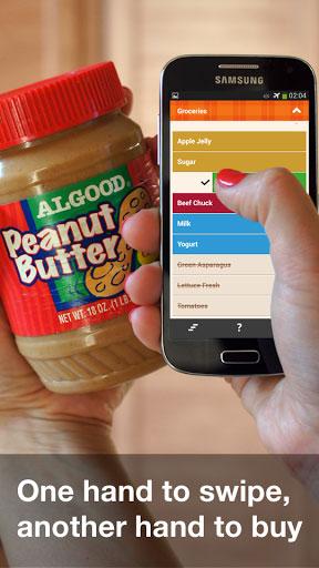 تطبيق Organizy Grocery لتنظيم قائمة المشتريات