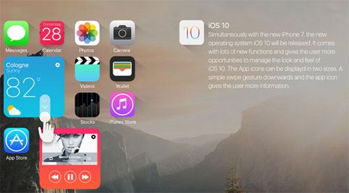 مزايا الإصدار iOS 10