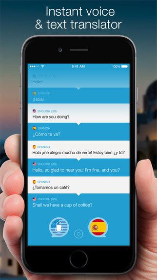 تطبيق Speak & Translate للترجمة الصوتية المباشرة