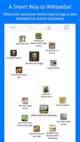 تطبيق WikiLinks لتصفح مقالات ويكيبيديا بطريقة مميزة
