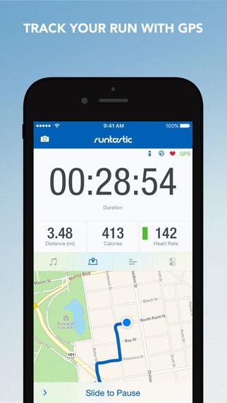 تطبيق Runtastic PRO لمتابعة نشاطك الرياضي