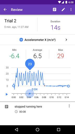 تطبيق Science Journal السجل العلمي من جوجل