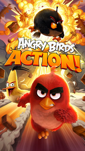 لعبة Angry Birds Action بإصدار جديد مميزة وممتعة