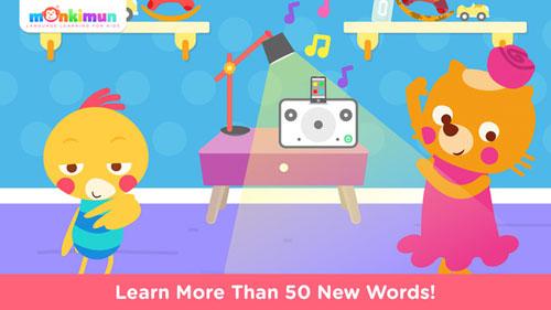 تطبيق Monki Home لتعليم الأطفال اللغات