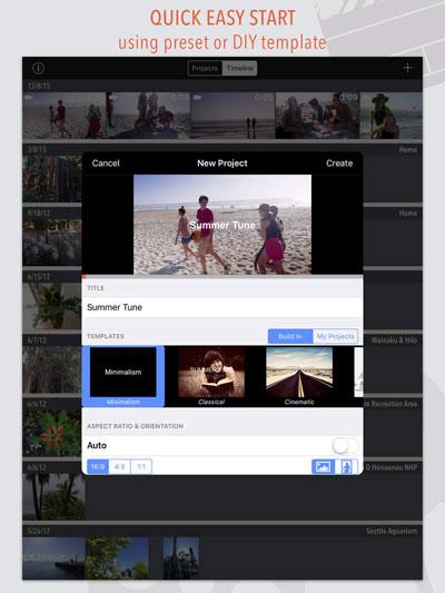 تطبيق ReelDirector II لتحرير وإنشاء مقاطع الفيديو