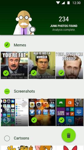 تطبيق Magic Cleaner for WhatsApp لحذف سلة المهملات