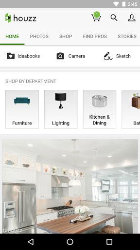 تطبيق Houzz لتصميم ديكور منزلك وفق رغبتك
