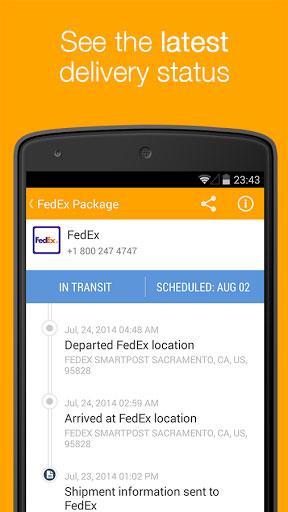 تطبيق AfterShip Package Tracker لمتابعة ومعرفة مكان شحناتك