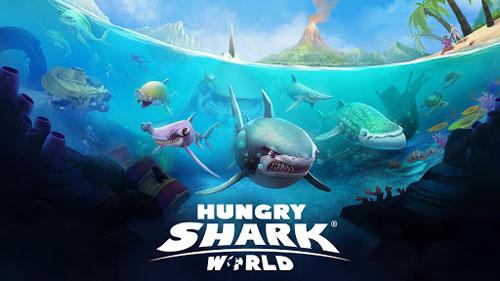 لعبة Hungry Shark World الشهيرة متوفرة للأندرويد