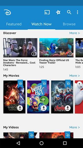 تطبيق Disney Movies Anywhere لمشاهدة وتحميل أفلام ديزني