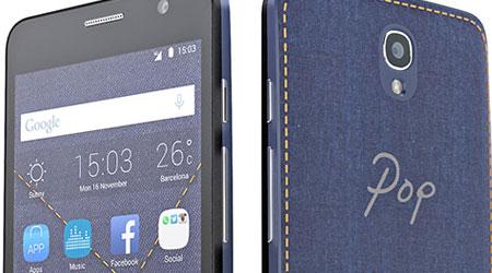 الإعلان رسميا عن جهاز Alcatel Pop Star بمزايا متوسطة
