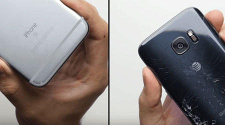 Photo of بالفيديو: اختبار سقوط جهاز جالاكسي S7 ضد الأيفون 6s