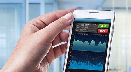 صورة التجارة الحديثة – تطور وسهولة في التداول والربح عبر الاجهزة الذكية والحاسوب