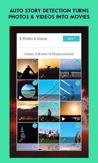 تطبيق Magisto لتحرير وإنشاء مقاطع فيديو وألبومات صور