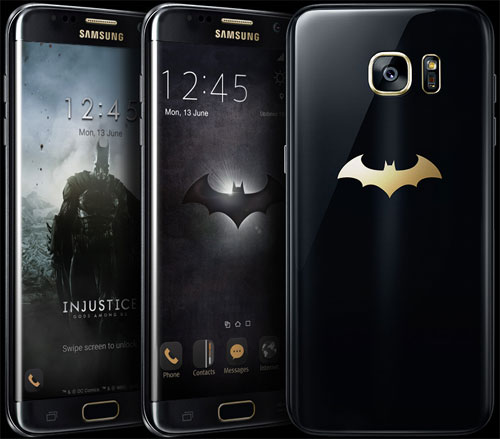 سامسونج تعلن عن نسخة باتمان من جهاز جالاكسي S7 إدج