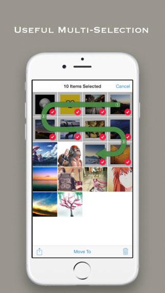 تطبيق Rhein II لجماية الصور والفيديوهات