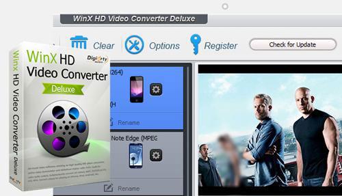 برنامج WinX HD Video Converter لتحويل الفيديو لصيغ مختلفة