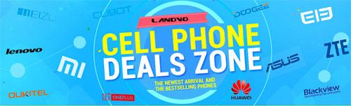 تخفيضات مميزة على أفضل الهواتف الذكية في موقع gearbest