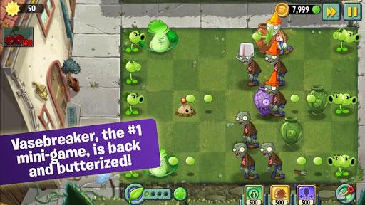 لعبة Plants vs. Zombies 2 الشهيرة مع مراحل جديدة