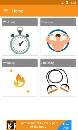 تطبيق Home Workouts دليلك للتمارين الرياضية المنزلية