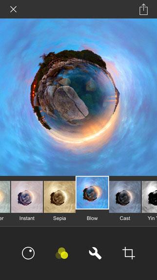 تطبيق Living Planet لتحويل صورك ومقاطع الفيديو بتأثير الكواكب
