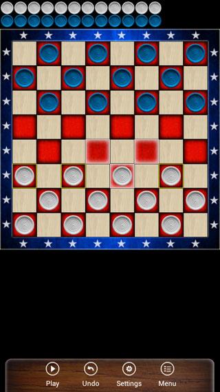 لعبة American Checkers لمحبي التحدي والذكاء