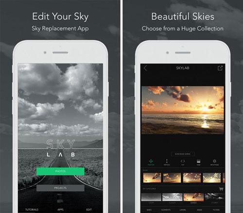 تطبيق SkyLab لتحرير وتعديل الصور بمزايا احترافية