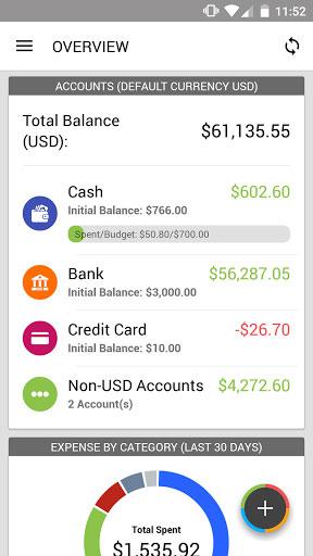 تطبيق Expense IQ لإدارة مصاريفك المالية بكل التفاصيل