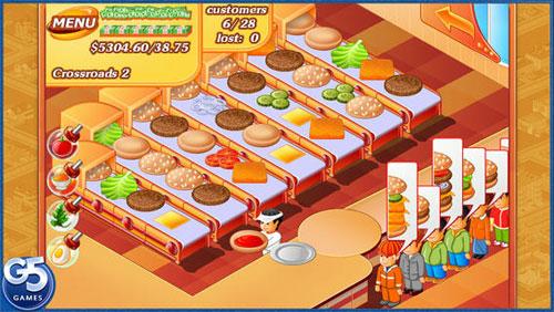 لعبة Stand O'Food® لإدارة وإنشاء سلسلة محلاتك