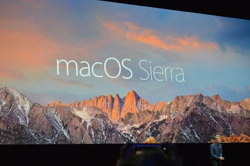 نظام macOS Sierra