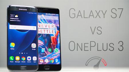 فيديو: أيهما أفضل جهاز OnePlus 3 أم جالكسي ادج S7 ؟