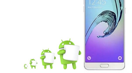 هاتف Galaxy A7 الإصدار الأول يحصل على الأندرويد 6.0.1