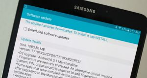 اللوحي Galaxy Tab S2 يحصل على الأندرويد 6.0.1 في مزيد من الدول