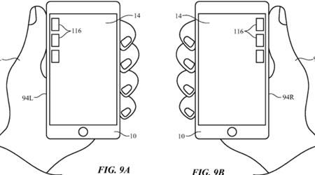 براءة اختراع: الأيفون سيتعرف بأي يد تستخدمه - اليمنى أم اليسرى