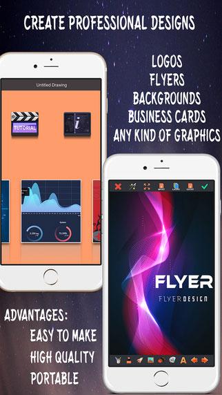 تطبيق Create Flyers & Logos لتصميم شعارك وبطاقاتك بنفسك – عرض خاص