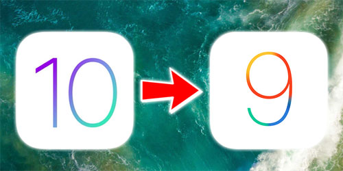شرح الرجوع من الإصدار 10 إلى 9.3.3 على الأيفون والأيباد