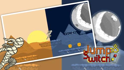 لعبة Jump N Switch كلاسيكية تضمن لك التسلية والتحدي