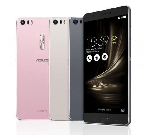شركة Asus تعلن عن ZenFone 3 Deluxe بمعالج Snapdragon 821