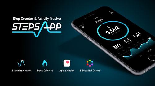 تطبيق الرائع Pedometer by StepsApp لمتابعة نشاطاتك الرياضية