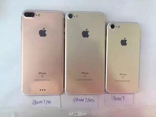 آبل ستطلق ثلاث نسخ من الأيفون 7 منها iPhone Pro