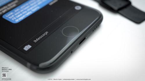 صور تخيلية لجهاز الأيفون 7 تظهر عدة مزايا رائعة